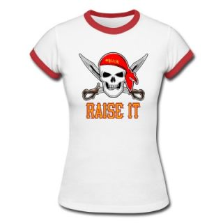 RAISE IT jolly roger T Shirt 10177984