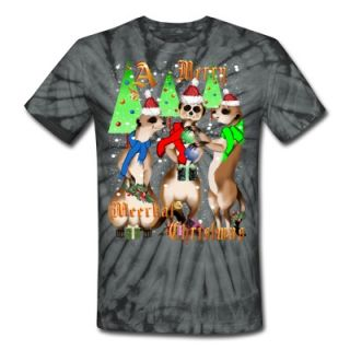 Merry Meerkat Christmas and snow T Shirt 6658946