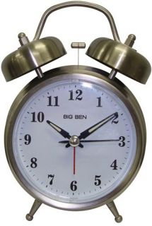 Ingraham Clocks 70010 Twin Bell Alarm Clock