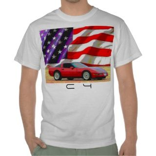 C4 Korvette T shirts