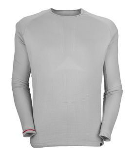 The North Face Hybrid L/s Crew Neck Hyactive Grey Man. Ropa hombre